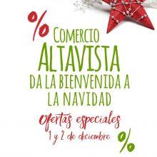 Comercio Altavista da la bienvenida a la Navidad