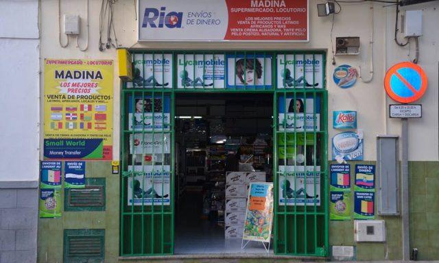 Bazar locutorio Madina